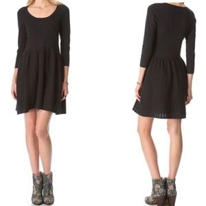 Madewell Wallace Sweater Fit and Flare Dress M